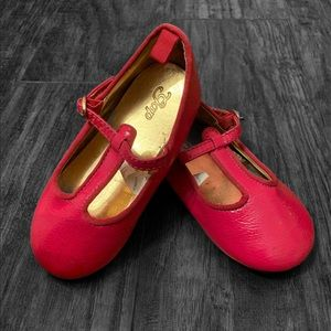 Gap size 7 soft Patent leather type never worn